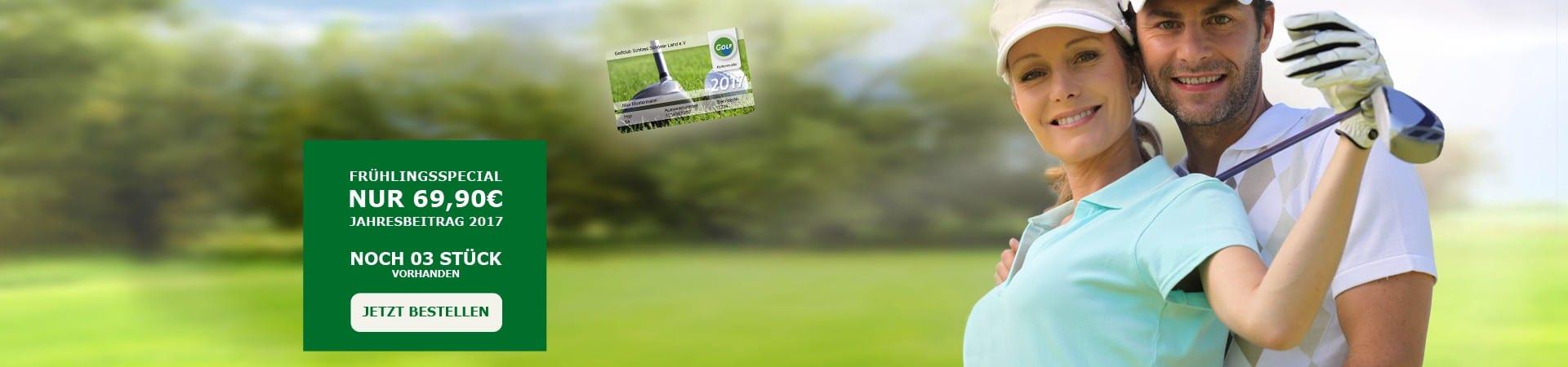 Günstige Golf Fernmitgliedschaft