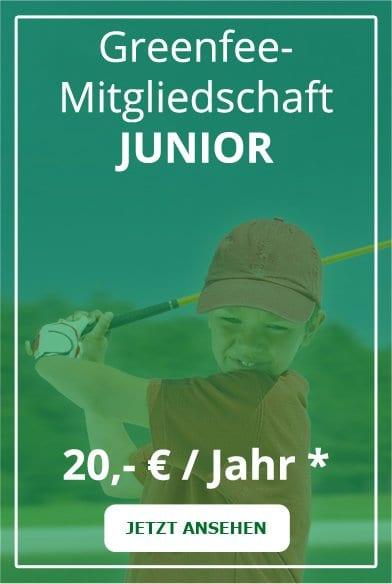 Günstige Golf Fernmitgliedschaft für Kinder